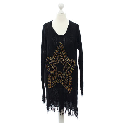 Lauren Moshi Long sweater with print