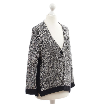Luisa Cerano Cardigan with metallic shimmer