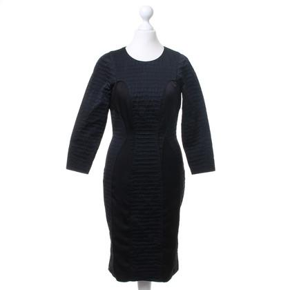 Hugo Boss Getextureerde jurk in het zwart