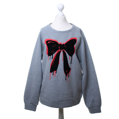 Moschino Grey sweater with bow