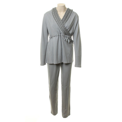 La Perla House suit with knit detail