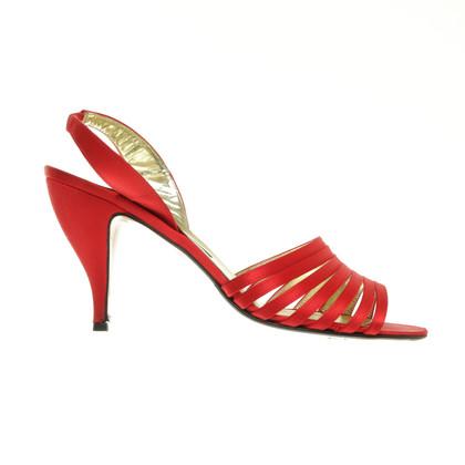 Walter Steiger Red high heel sandal