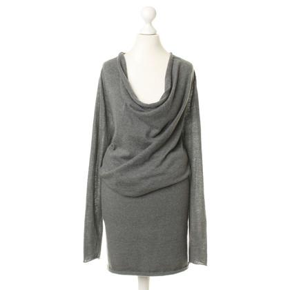 Donna Karan Brei jurk in het grijs