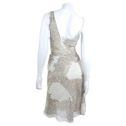 John Galliano Dress with lace print