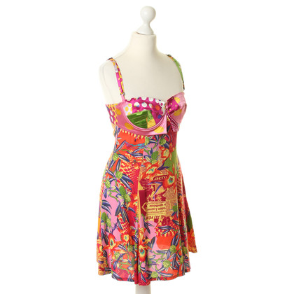 Christian Lacroix Pinafore dress in the pattern mix