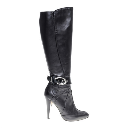 Versace Boot with decorative buckle