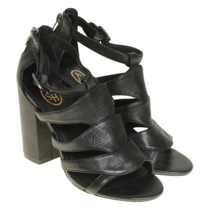 Ash Sandalo tacco alto nero