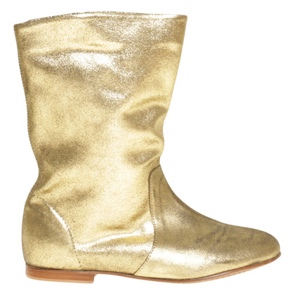 Andere Marke Delphine Conty - Boots in Gold
