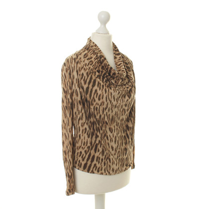 Michael Kors Top with Leopard print