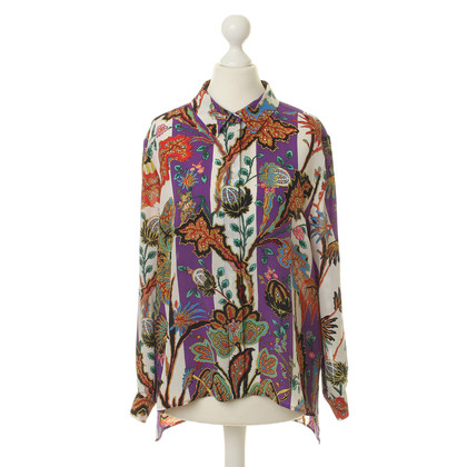 Balenciaga Silk blouse with patterns