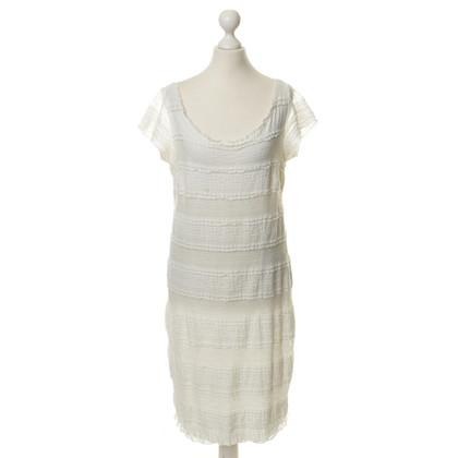 Piu & Piu Witte kant jurk