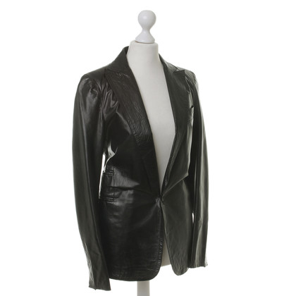 Costume National Blazer aus Leder