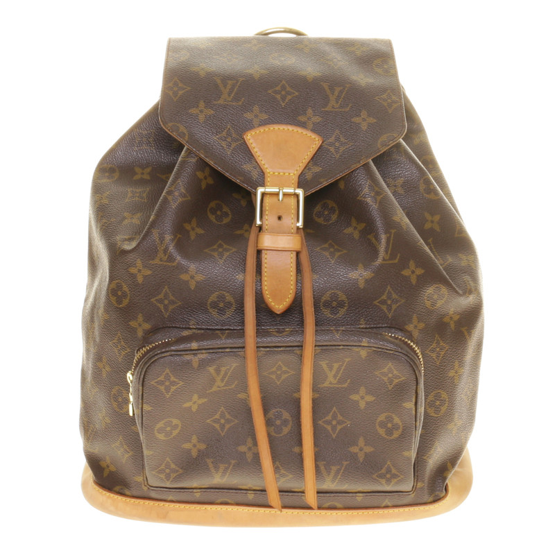 louis vuitton rucksack aus monogram canvas second hand louis vuitton rucksack aus monogram. Black Bedroom Furniture Sets. Home Design Ideas