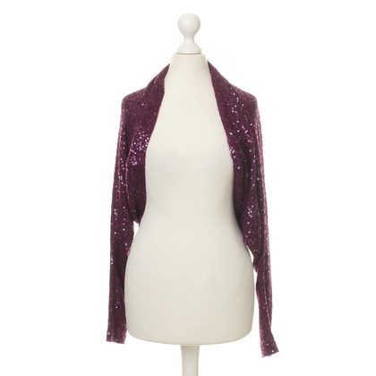 Donna Karan Bolero with sequin trim