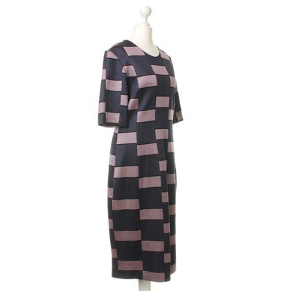 Odeeh Sheath dress with geometric pattern