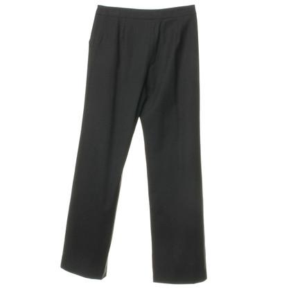 Armani Collezioni Pantaloni di flanella grigia