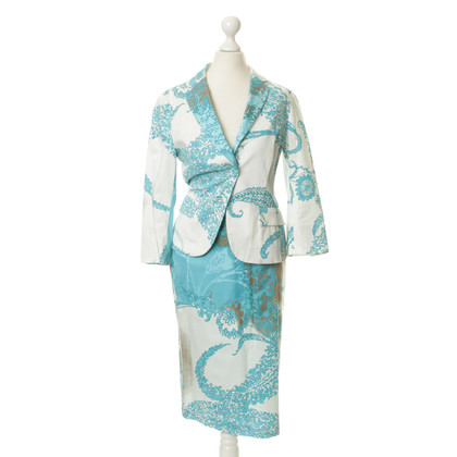 Max Mara Costume with a floral pattern