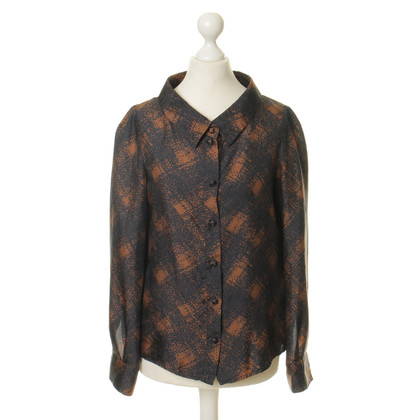 Red Valentino Silk blouse with patterns