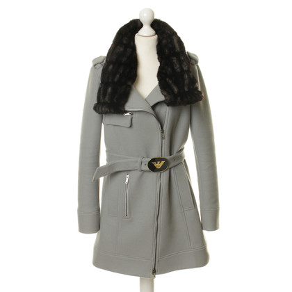 Armani Coat with faux fur