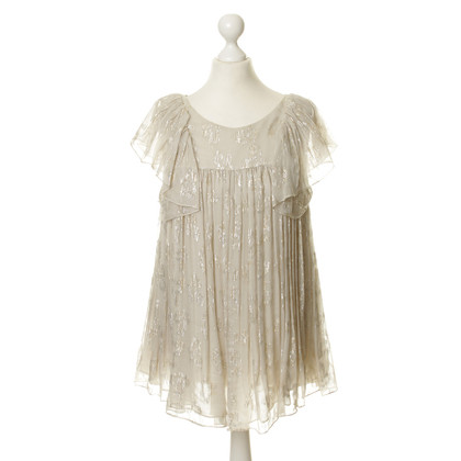Stella McCartney Top with shimmer effect