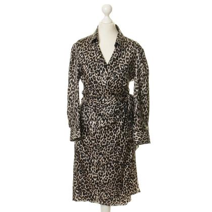 Paule Ka Silk wrap dress