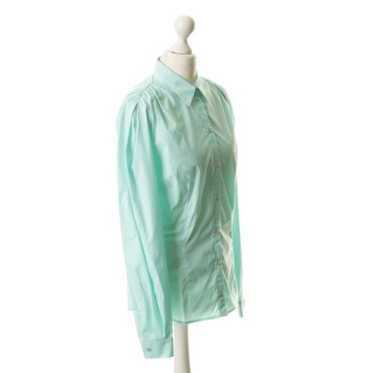 Alexander McQueen Blouse in turquoise