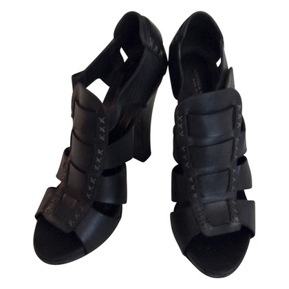 Bottega Veneta Sandalen in zwart-wit