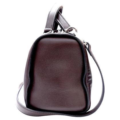 Altre marche Velluto a coste di Barry Pebble - borsa in pelle marrone con tracolla