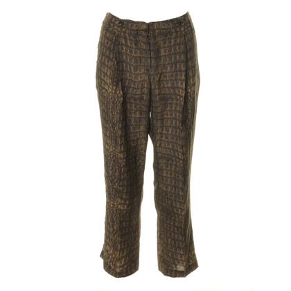 Roberto Cavalli Croc pants