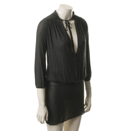 Humanoid Schwarzes Jersey Kleid