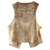 Schumacher Embroidered vest
