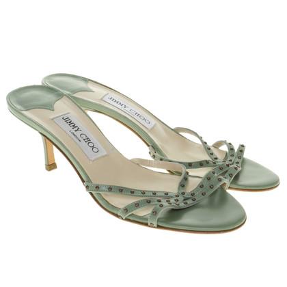 Jimmy Choo Sandals in light green