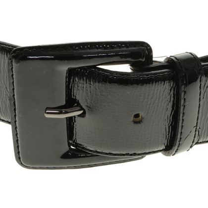 Longchamp Patent leather waist belt