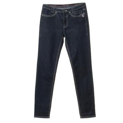 Marc Cain Jeans met contraststiksels