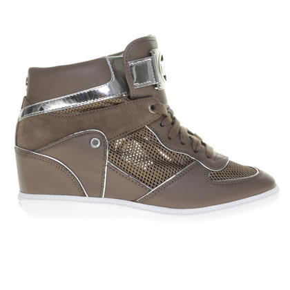 Michael Kors Hightop sneakers con un netto