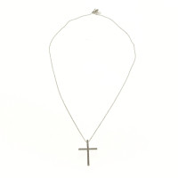 JOOP! Silver necklace with cross pendant