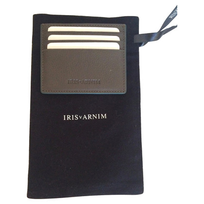 Iris von Arnim Leather cards holder