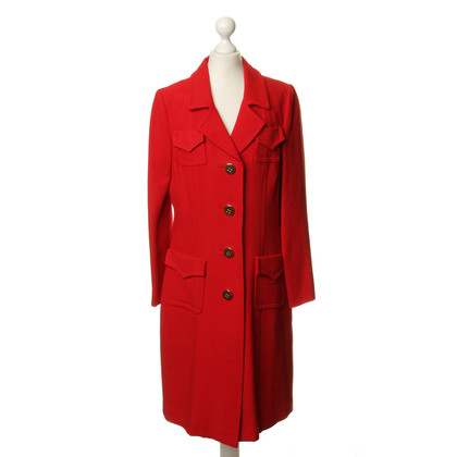 Milly Coat in red