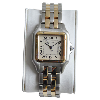 Cartier Panthere Stahl/gold 18 ct. 2 rank GM