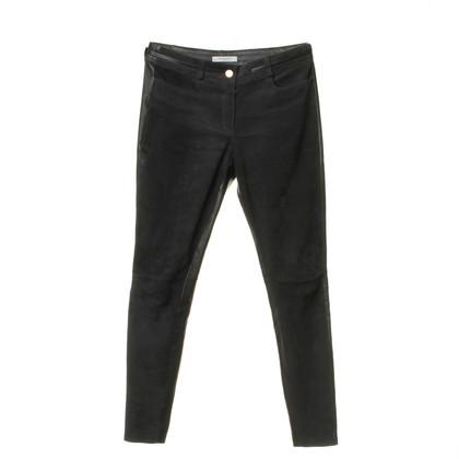 Givenchy Pantaloni di pelle con cerniera