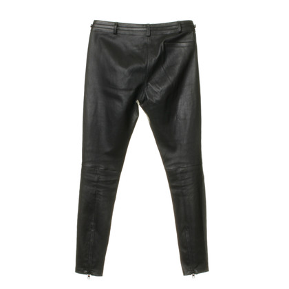 Givenchy Leather pants with zipper