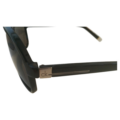 Calvin Klein Black Aviator sunglasses