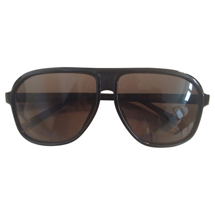 Calvin Klein Schwarze Pilotenbrille