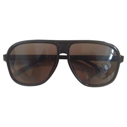 Calvin Klein Black Aviator sunglasses