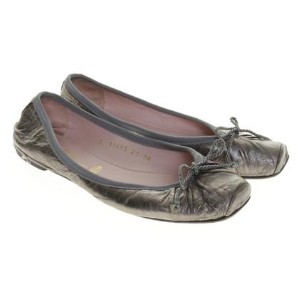 Pretty Ballerinas Silbergraue Ballerinas