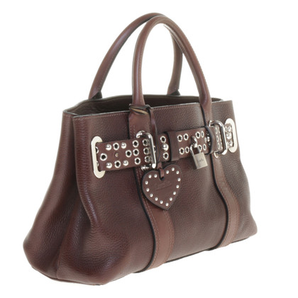 Luella Handle bag with studded belt