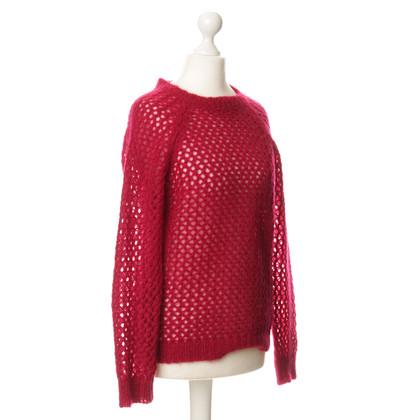 Isabel Marant Etoile Roter Strickpullover