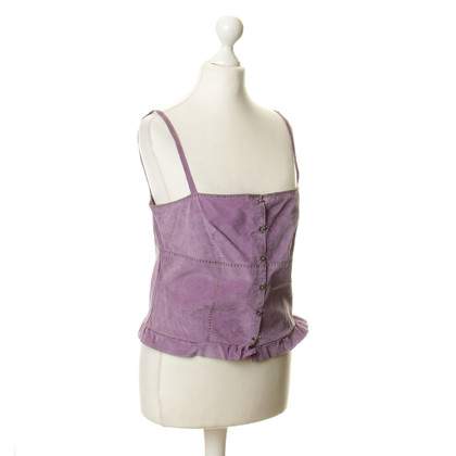 Philosophy di Alberta Ferretti Bustier top in Lilac