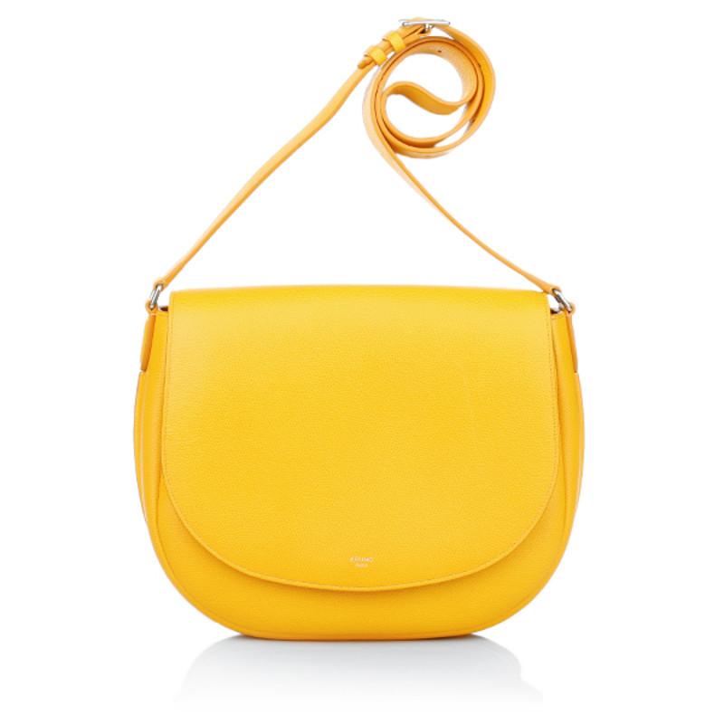"""Céline """"Trotteur Shoulder Bag"""" in yellow"""