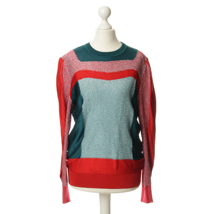 Peter Pilotto Pullover with metallic fibers